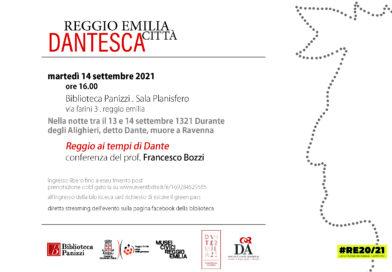 Reggio città dantesca 14 settembre 16:00